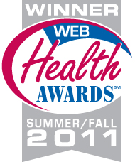 Web Health Award Summer/Fall 2011